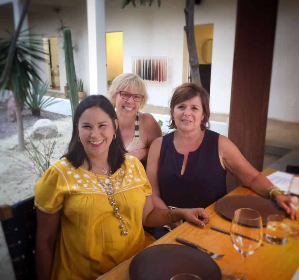 La Villa Bonita return guests on the gourmet road trip
