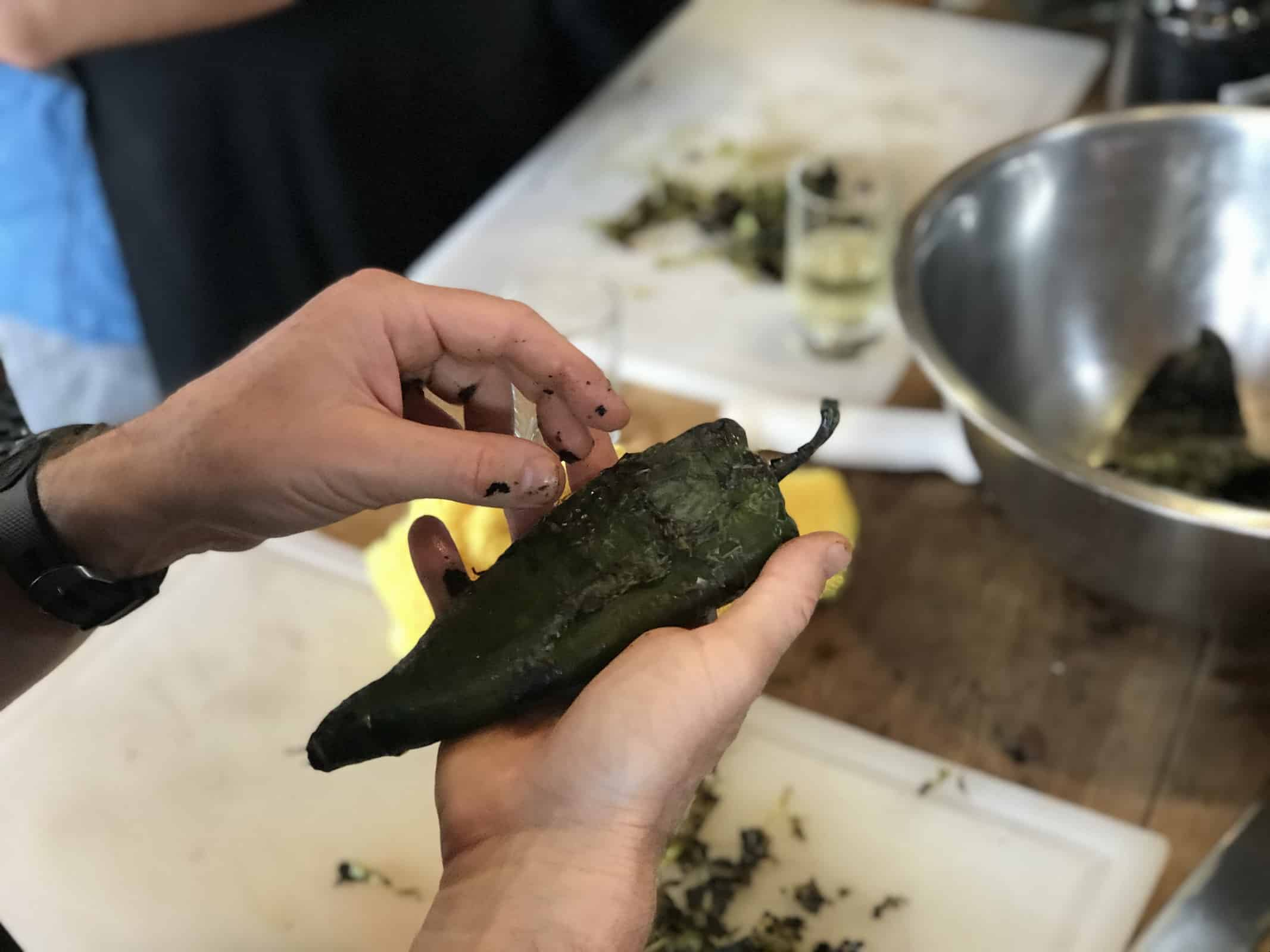 Learn how to prepare chiles