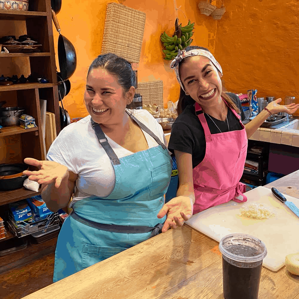 Chef Ana Garcia and Chef Alejandra Quiroz